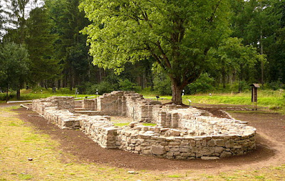 church ruins at Winnefeld